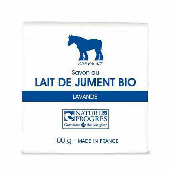 Chevalait - Savon au lait de jument Lavande bio