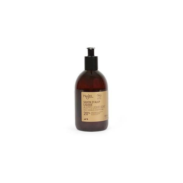 Najel - Savon d'Alep liquide 20% HBL BIO 500ml