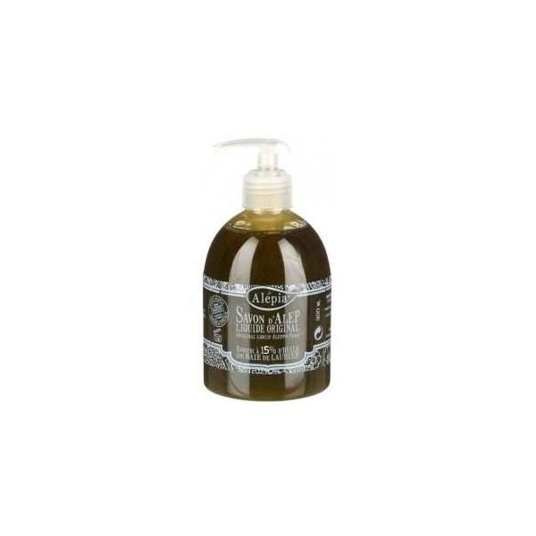 Alépia Savon d'Alep liquide Premium 15% Laurier 300 ml