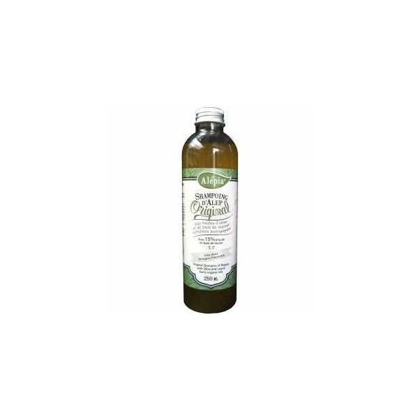 Alépia Shampoing d'Alep BIO Original 15% laurier 100% naturel 250ml