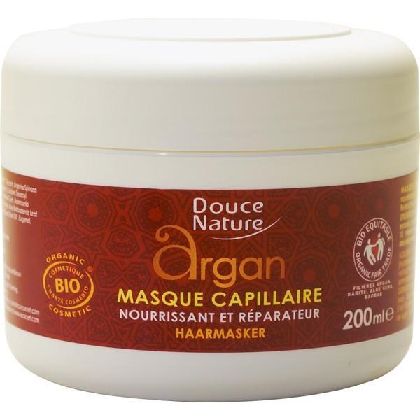 Douce Nature - Masque Capillaire réparateur à l'Argan Bio - 200 ml