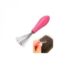 Outil pour nettoyer les brosses à cheveux