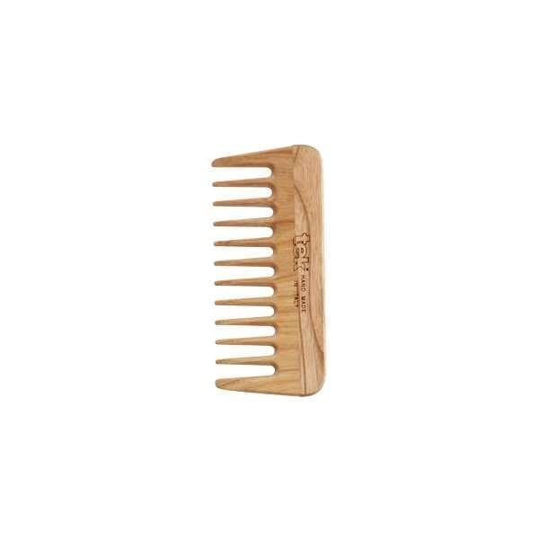 Micro Peigne à dents larges en frêne naturel
