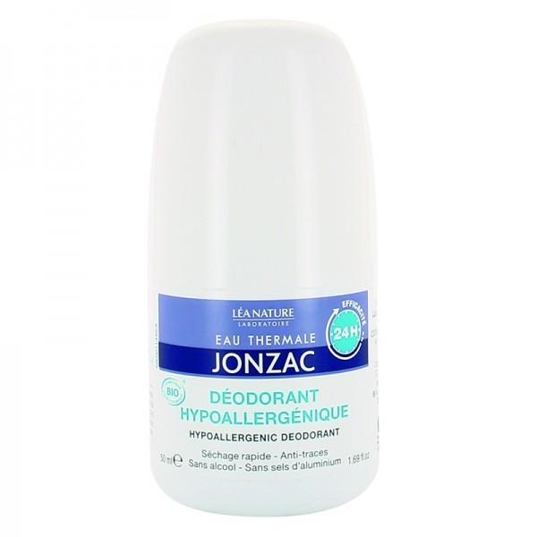 Eau Thermale Jonzac - Rehydrate, Déodorant hypoallergénique 24h BIO - 50 ml