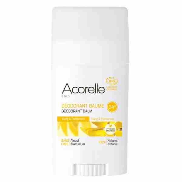 Acorelle - Stick Déodorant baume Ylang et Palmarosa BIO - 40 g