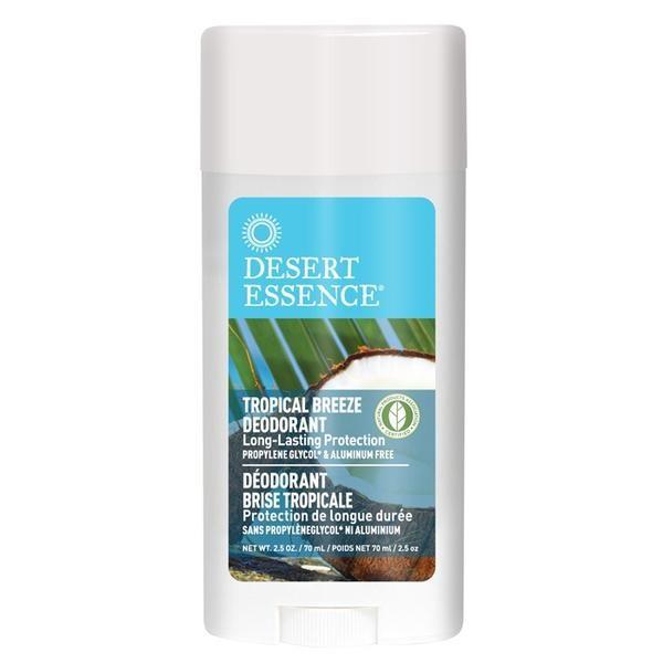 Desert Essence Stick déodorant Brise tropicale 70ml