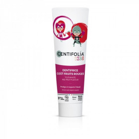 Centifolia - Dentifrice enfants goût fruits rouges BIO 50ml