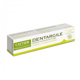 Cattier Dentargile reminéralisant à l'Anis anti tartre 75ml