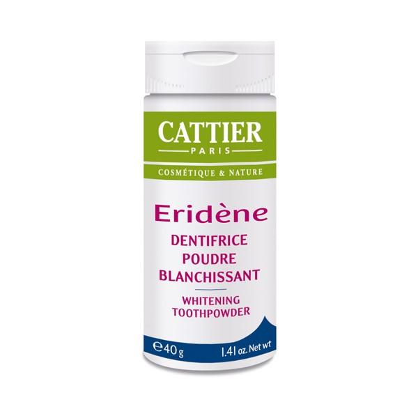 Cattier Eridene Poudre Blanchissante naturelle 40 g