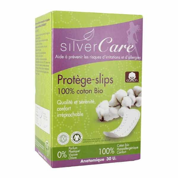 Silver care Protèges slips coton bio x30