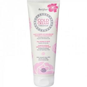Beliflor - Cold Cream Lait Corps nourrissant à la Rose de Damas bio 200 ml