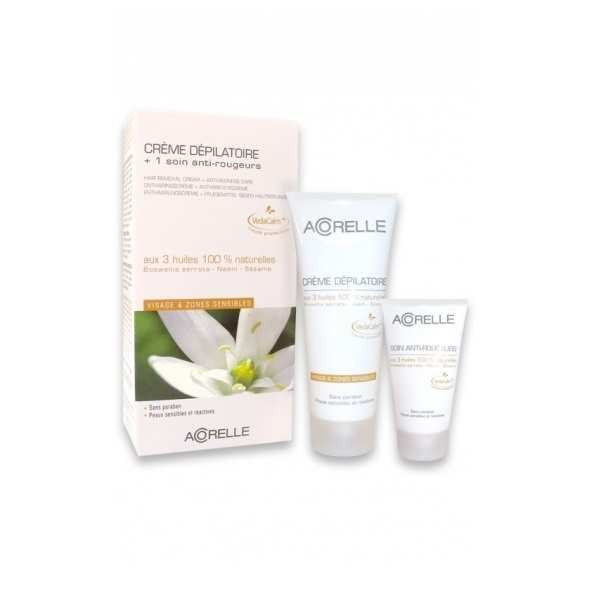 Acorelle Crème Dépilatoire visage & zones sensibles