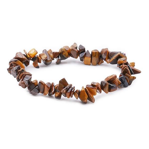 Bracelet Baroque oeil du tigre - Protection Ondes et Energies Négatives