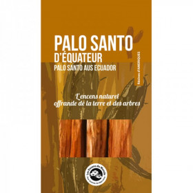 Palo San d'équateur - Purification de l'habitat - Méditation - Nettoyage énergétique