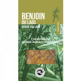 Résine naturelle Benjoin du Laos 20 gr - Purification