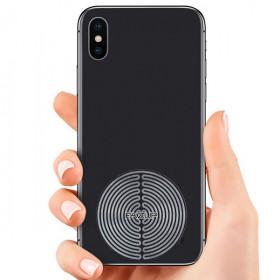Lot de 2 Patchs de protection anti onde pour téléphones et smartphones - Fazup silver