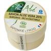 Savon saponifié à froid 20% Aloé Vera BIO 90g - Pur aloe