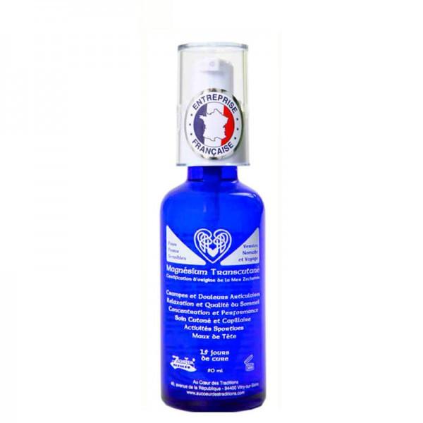 Huile de magnésium marin Transcutané 50 ml - Au coeur des traditions