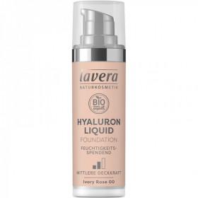 Fond de Teint Liquide BIO Hyaluron liquid foundation - Ivory rose 00 - Lavera