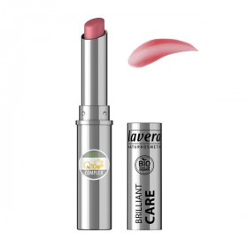 Rouge à lèvres BIO Oriental Rose 03 - brillant care q10 - LAVERA