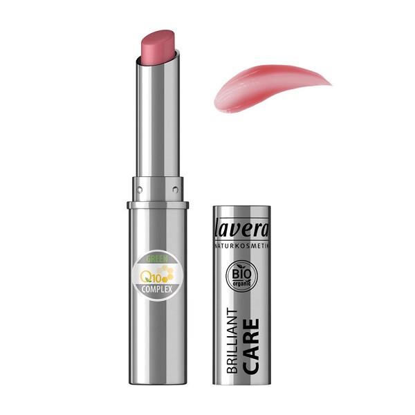 Rouge à lèvres BIO Oriental Rose 03 - brillant care q10 - LAVERA