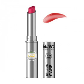 Rouge à lèvres BIO Red Cherry 07 - brillant care q10 - LAVERA