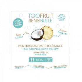 Sensibulle pain dermatologique enfants ANANAS COCO BIO 85 g - Toofruit