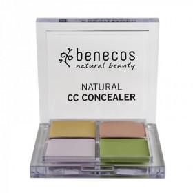 Palette correcteur de teint 4 couleurs BIO - Benecos