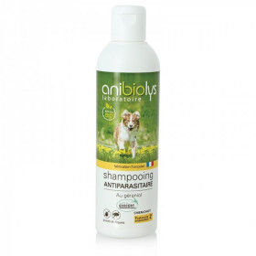 Shampoing antiparasitaire Chiot et Chien Ecosoin Anibiolys