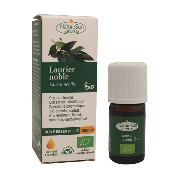 Huile Essentielle Laurier Noble BIO - NatureSun Aroms