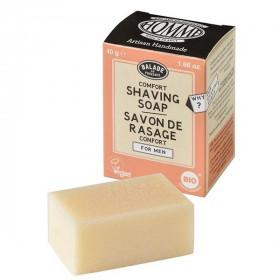 Savon de rasage pour homme Agrumes BIO 40 g - Balade en Provence