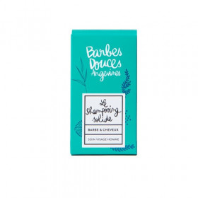 Shampoing solide Barbe et cheveux 100g - Douces Angevines