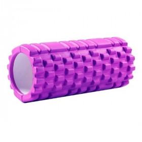 Rouleau de massage Yoga 33x14cm (Violet)