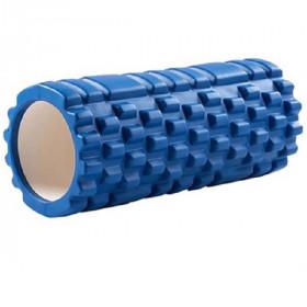 Rouleau de massage Yoga 33x14cm (bleu)