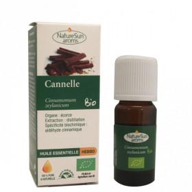 Huile essentielle Cannelle Bio 10ml - Naturesun'Arôms