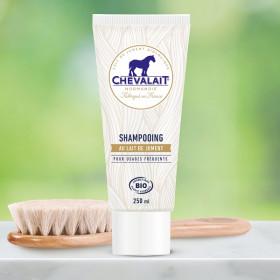 Chevalait - Shampoing au lait de jument bio corps & cheveux - Shampoing au lait de jument bio
