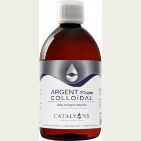 Catalyons Laboratoire Argent Colloïdal 20PPM 500ml