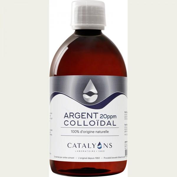 Catalyons Laboratoire Argent Colloïdal 20PPM 500ml