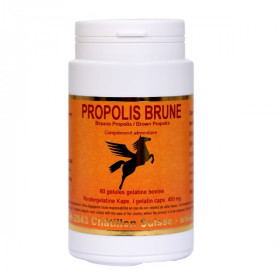 Propolis brune 100% pure 60 gélules - Phyt Inov