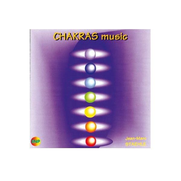 CD album - Chakras Music de Jean-Marc Staehle (Compositeur)