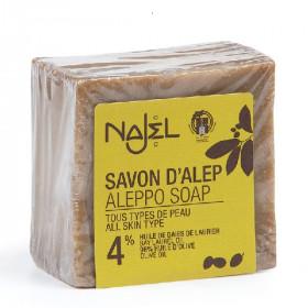 Najel SAVON D'ALEP 5% d'huile de baies de laurier BIO