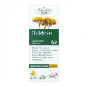 Biofloral Huile Essentielle Hélichryse Bio 10 ml varice couperose hemorroides