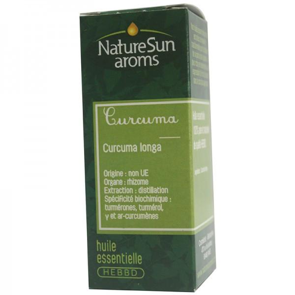 Huile Essentielle Curcuma 10 ml - Naturesun Aroms
