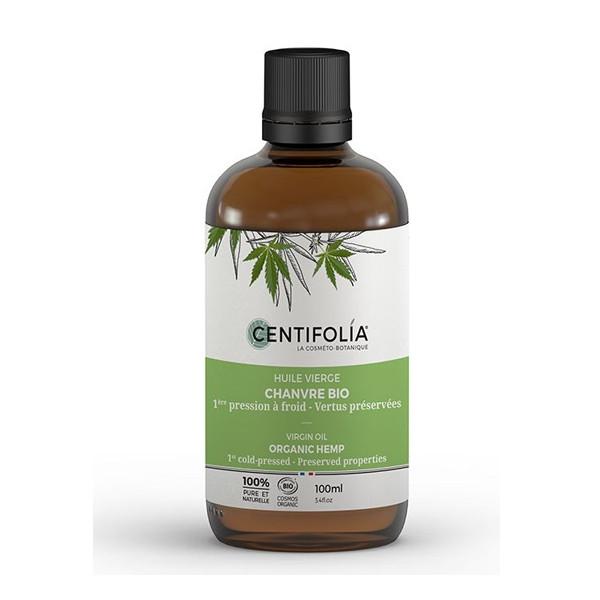 Centifolia - Huile Végétale Chanvre BIO 100 ml Rougeur - Couperose
