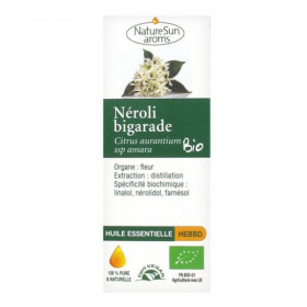 Huile Essentielle Néroli Bigarade Bio 1ml - NatureSun Aroms