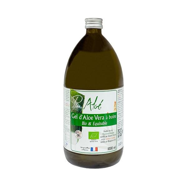Gel d'Aloé Vera Bio à Boire 1L - Pur Aloé