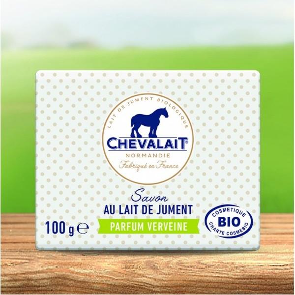 Chevalait - Savon au lait de jument Verveine bio