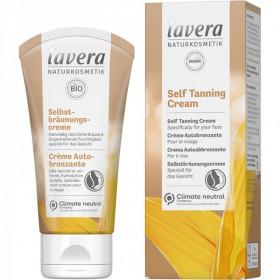 Lavera Crème Autobronzante Visage bio Hâle léger et uniforme 50ml