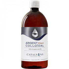 Argent colloïdal 20 ppm 1 L - Catalyons Laboratoire