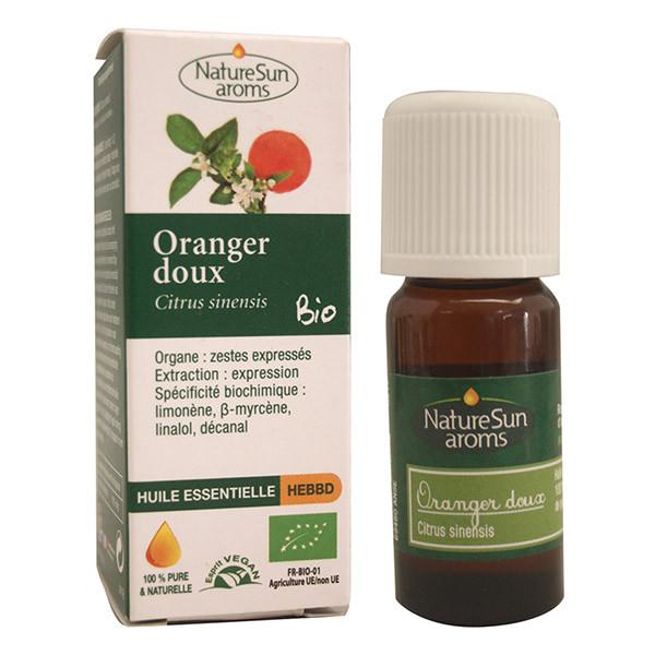 Huile Essentielle Bio Oranger Doux 10ml - NatureSun Aroms